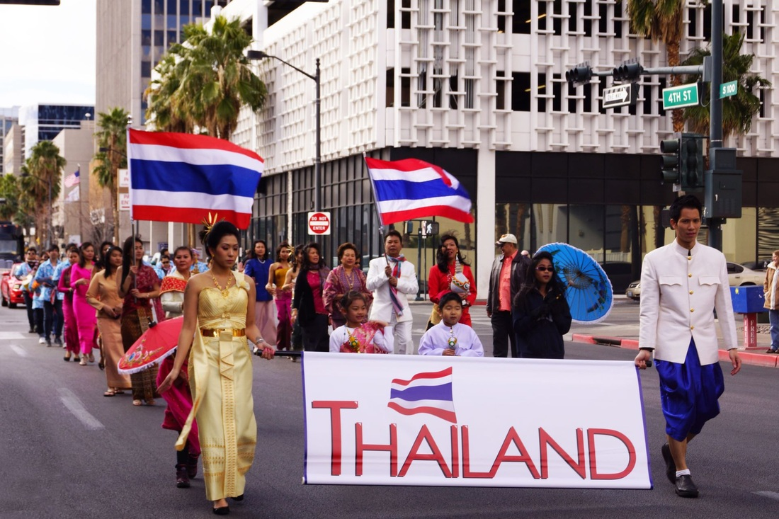 Thai Cultural Parade in Downtown Las Vegas