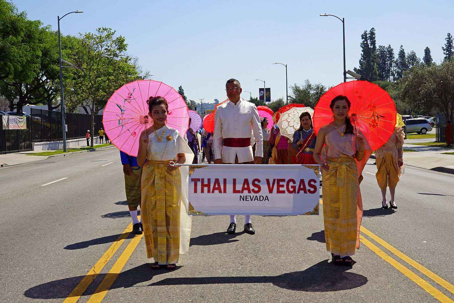 Las Vegas Thai Community participation in the Songkran New Year Festival 2018